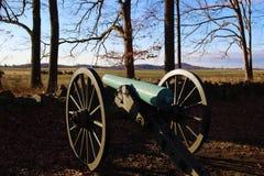 葛底斯堡大炮纪念品 图库摄影