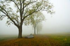 葛底斯堡帐篷 库存图片