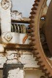 葡萄压榨机片段 库存照片