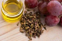 葡萄含油种子 库存照片