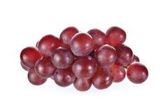 葡萄在白色背景的 免版税库存图片