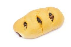 葡萄干面包 库存照片