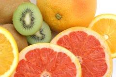 葡萄柚半猕猴桃二 库存照片