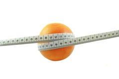 葡萄柚和米 免版税图库摄影