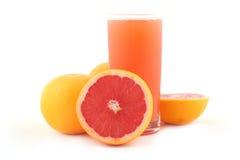 葡萄柚成熟的葡萄柚汁 库存照片
