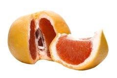 葡萄柚水多的红色 免版税库存照片