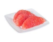 葡萄柚水多的黏浆状物质 免版税库存照片