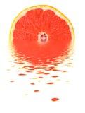 葡萄柚水 库存照片