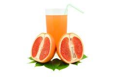 葡萄柚汁 免版税库存照片