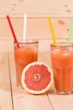 葡萄柚汁 免版税库存图片