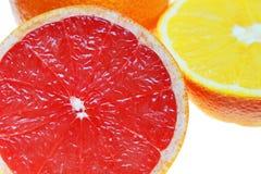 葡萄柚红色 图库摄影