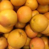 葡萄柚背景,健康食物概念 免版税库存图片