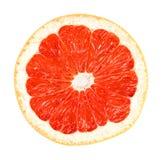 葡萄柚路径白色 库存照片