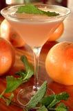 葡萄柚马蒂尼鸡尾酒 库存图片