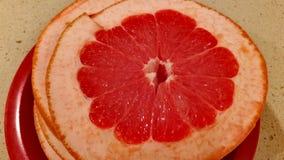 葡萄柚水多的红色 图库摄影