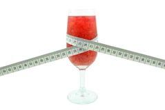 葡萄柚黏浆状物质和米 免版税图库摄影
