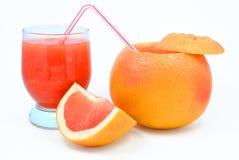 葡萄柚黏浆状物质  免版税图库摄影