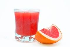 葡萄柚黏浆状物质  免版税库存图片