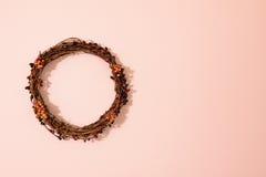 葡萄树花圈 图库摄影