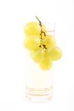 葡萄汁 库存照片