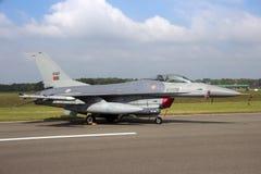 葡萄牙人空军队F-16战斗机 库存照片