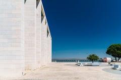 葡萄牙全国亭子在里斯本 库存照片