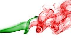 葡萄牙全国烟旗子 免版税图库摄影