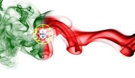 葡萄牙全国烟旗子 免版税库存照片