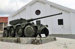 葡萄牙军事坦克 图库摄影