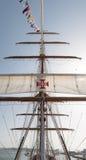 葡萄牙军舰 免版税图库摄影