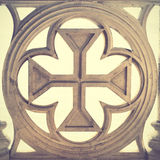 葡萄牙十字架 免版税图库摄影