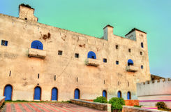 葡萄牙堡垒在萨菲,摩洛哥 库存图片