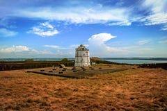 葡萄牙堡垒Aguada goa 恰恩多利姆 印度 免版税库存图片