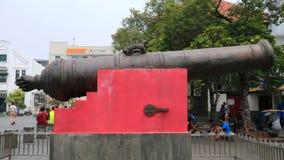 葡萄牙大炮 免版税库存图片