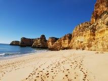 葡萄牙小海湾 免版税库存照片