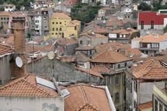 葡萄牙屋顶 库存照片