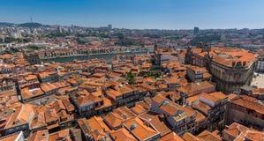 葡萄牙屋顶 库存图片
