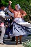 葡萄牙民间传说跳舞 免版税库存照片
