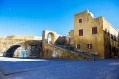 葡萄牙海盗堡垒 库存照片