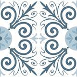 葡萄牙瓦片样式 背景几何老装饰品纸张葡萄酒 最佳的下载原来的打印准备好的纹理导航 库存图片