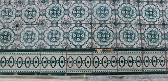 葡萄牙瓦片 免版税库存照片