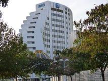 葡萄牙电信办公大楼 免版税库存照片