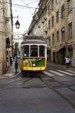 葡萄牙电车 免版税图库摄影