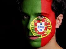 葡萄牙的旗子 免版税库存图片