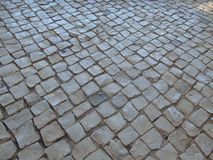 葡萄牙被修补的街道 库存图片