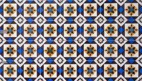 葡萄牙装饰瓦片azulejos 库存照片