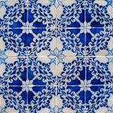 葡萄牙语Azulejos 库存照片