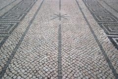 葡萄牙路面, Calcada portuguesa 库存图片