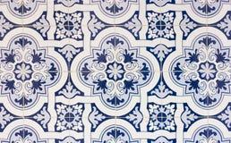 葡萄牙铺磁砖特写镜头 库存图片
