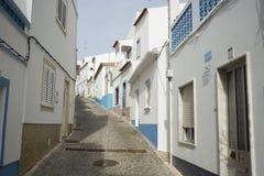 葡萄牙阿尔加威SALEMA老镇 免版税库存照片